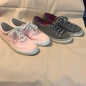 Two pair of Keds